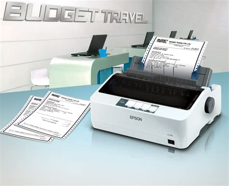 Paper Tray Epson Lx310 New epson showcases models of dot matrix printers lx