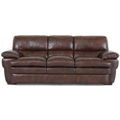 Superb Creations Leather Sofa Superb Creations Sofas Accent Sofas Store
