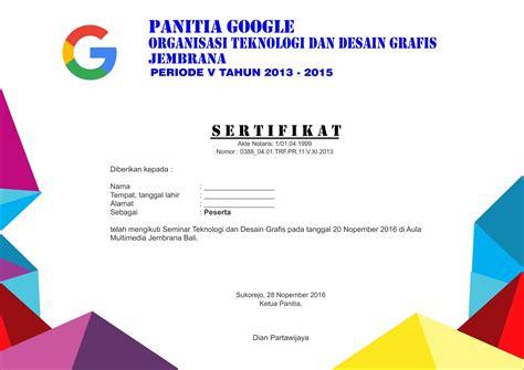 pelatihan design grafis gratis download gratis contoh desain sertifikat keren format