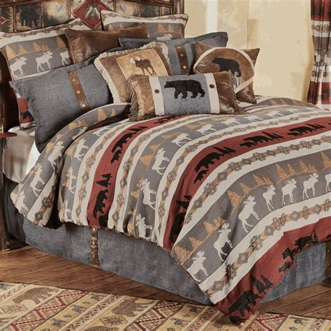 Mountain Bedding Sets 1000 Images About Cabin Bedding On Pinterest