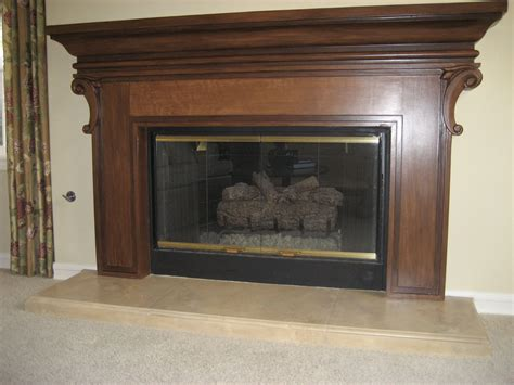 Imitation Fireplace by Faux