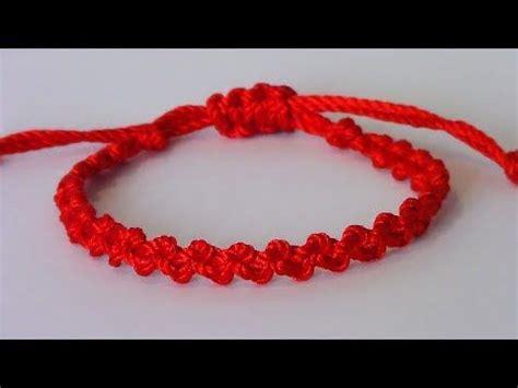 nudo para hacer pulseras como hacer pulseras de nudos de hilo como hacer una