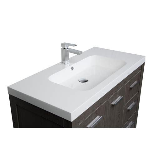 39 Bathroom Vanity Buy 39 5 Inch Modern Bathroom Vanity In Oak Optional Mirror Rs L1000 Oak Conceptbaths