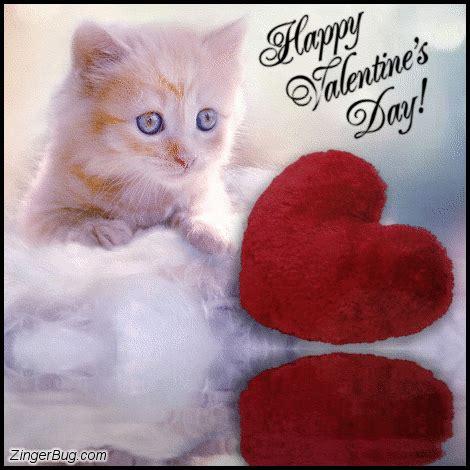 happy valentines day meme happy valentines day kitten reflections glitter