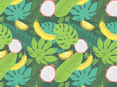 design pattern net tutorial how to create a tropical pattern in adobe illustrator