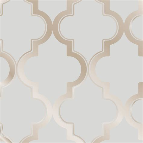 moroccan wallpaper beige peel and stick moroccan trellis global bazaar grey beige removable