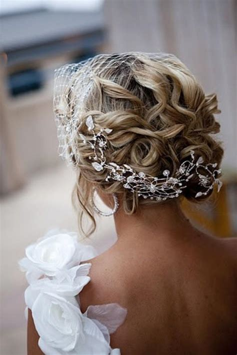 Wedding Hair Updo Pieces by Updo Hair Model Gorgeous Wavy Updo Wedding Hair 790398