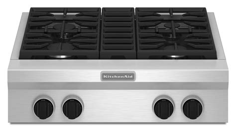 Commercial Cooktops Gas commercial style gas cooktop