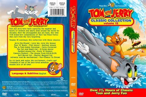 Dvd Tom Jerry Classic Collections tom and jerry classic collection volume 12 tv dvd custom covers tom and jerry classic