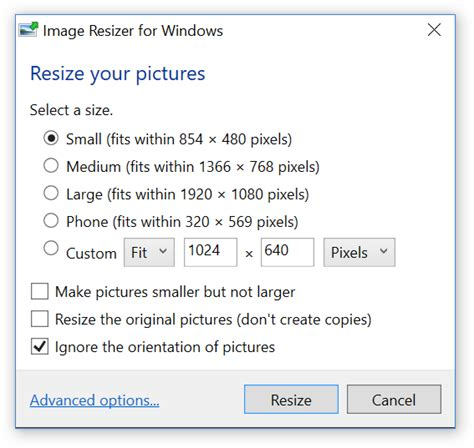image resizer  windows image resizer