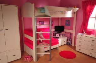 Loft Bedroom Set With Desk Bedroom Wood Bunk Bed With Desk Underneath Bedrooms