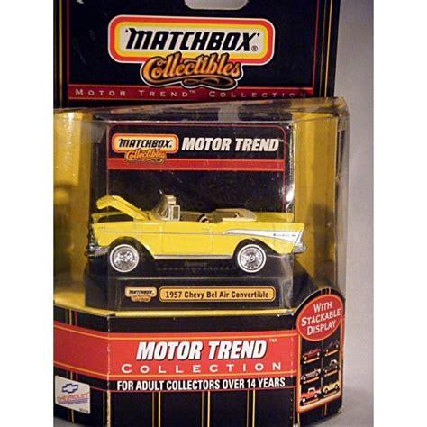 matchbox collectibles motor trend 1957 chevrolet bel air convertible global diecast direct