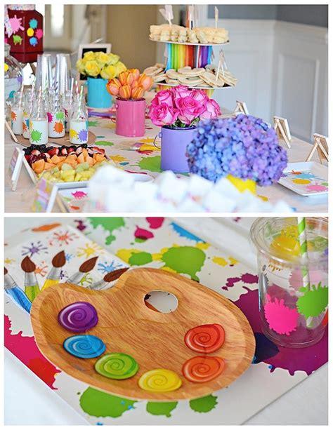 art themed events kara s party ideas art themed 3rd birthday party