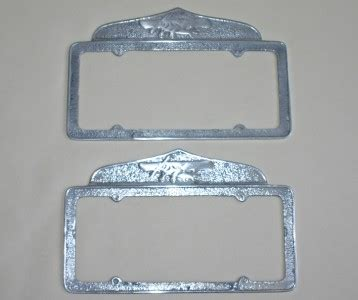 airplane license plate frames california license plate frames airplane topper 1929 55 ebay
