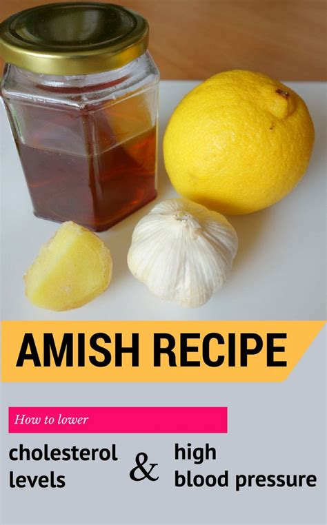 Amish Detox Recipe 25 best blood pressure remedies ideas on