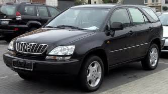 How Much Is Lexus Rx300 File Lexus Rx300 Front Jpg Wikimedia Commons