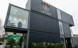 Home Design Stores In San Francisco Aether S New San Francisco Store Takes Shipping Container
