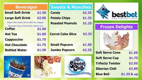 concession menu template 19 best images about league on baseball
