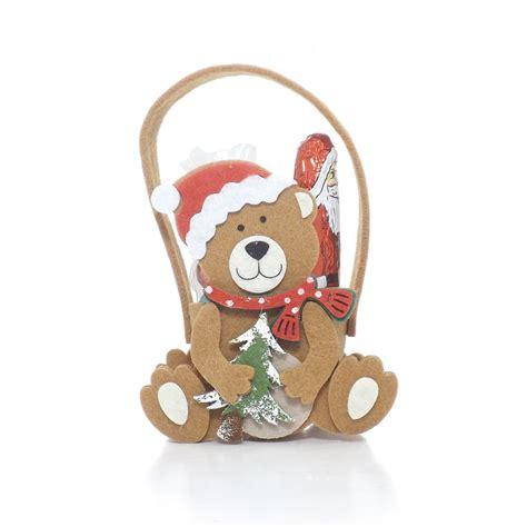 buy felt christmas bear gift bag