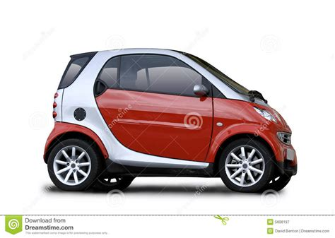 a small compact car was involved in a rollover crash small car royalty free stock photography image 5606197