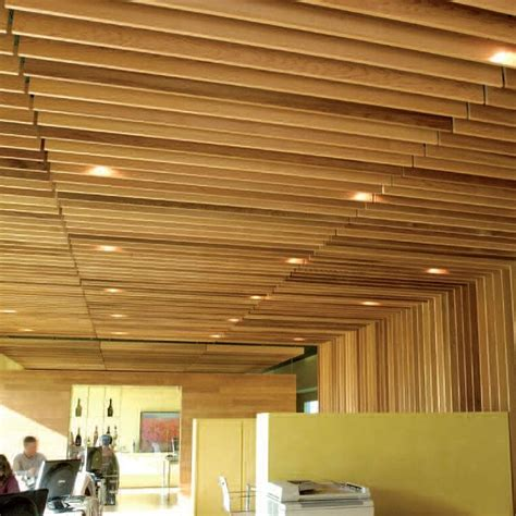 Suspended Wood Ceiling 25 Best Ideas About Plafond Acoustique On