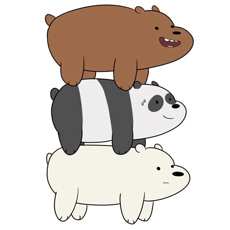 Grizzly Webarebears we bare bears grizzly quot grizz quot panda we bare bears