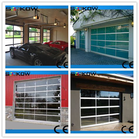 Insulated Overhead Door Prices Insualted Sectional Glass Garage Door Buy Insulated Sectional Glass Door Glass Garage Door