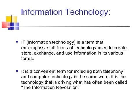 information technology report sle basics of information technology