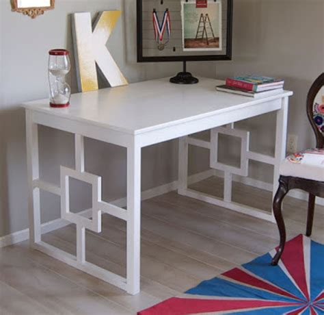 Ikea Hacks Desk | diy ikea hacks landeelu com