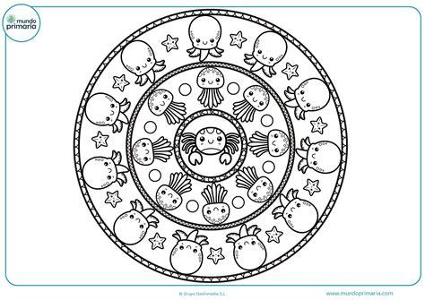imagenes para dibujar mandalas dibujos de mandalas para colorear mundo primaria