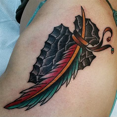 indian arrowhead tattoo designs 75 epic arrowhead for adventurous feather