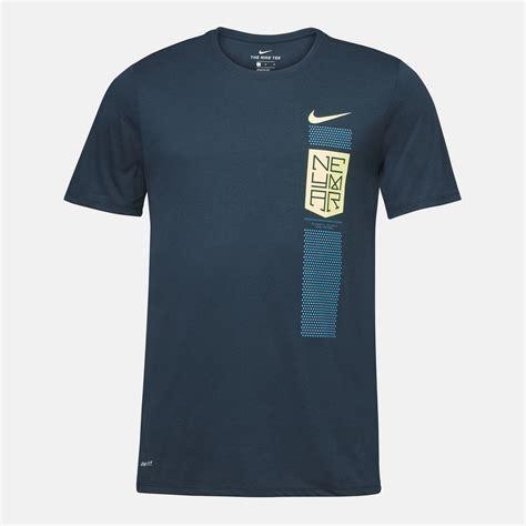Tshirt T Shirt Kaos Nike Neymar Shop Blue Nike Dri Fit Neymar T Shirt For Mens By Nike Sss