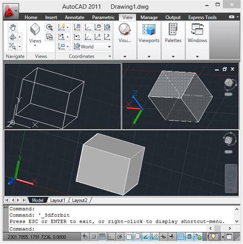 cara mengatur view layout pada autocad 3d autocad tips 12cad com