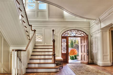 house entrance foyer beautiful lake home interior design inspiration eva