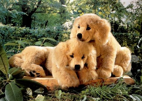stuffed golden retriever puppy plush toys and stuffed animals
