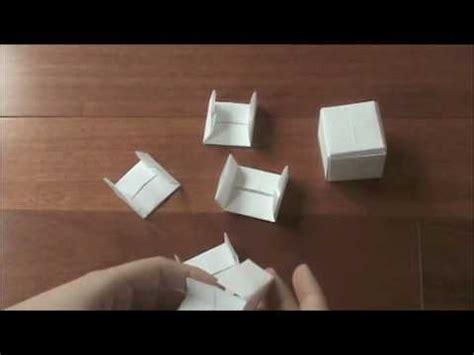 Origami Jackson Cube - origami modular paul jackson cube