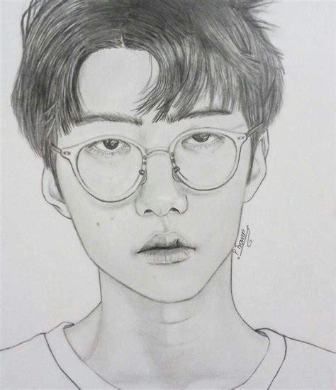 sketch book exo oh sehun lucky one fanart k pop amino
