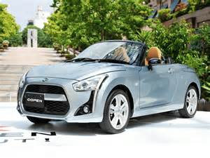 Daihatsu Coupen Daihatsu Copen Sports Car Revealed In All Its Tiny