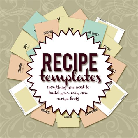 create your own recipe book with this 8 5 x 11 recipe