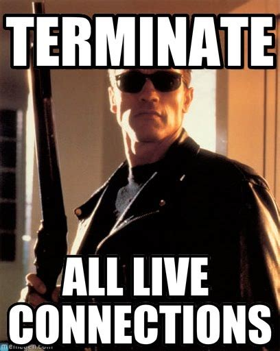 terminate terminator 2 meme on memegen