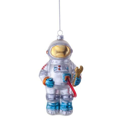 Novelty Chiminea by Buzz The Astronaut Novelty Glass Tree Bauble