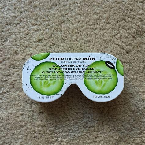 Roth Cucumber Detox Eye Cubes by To Detox Roth Cucumber De Tox De