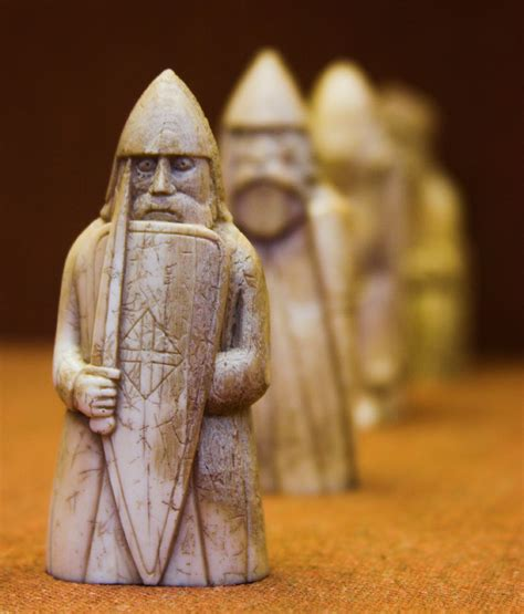 The Lewis Chessmen file warrior lewis chessmen museum jpg wikimedia commons