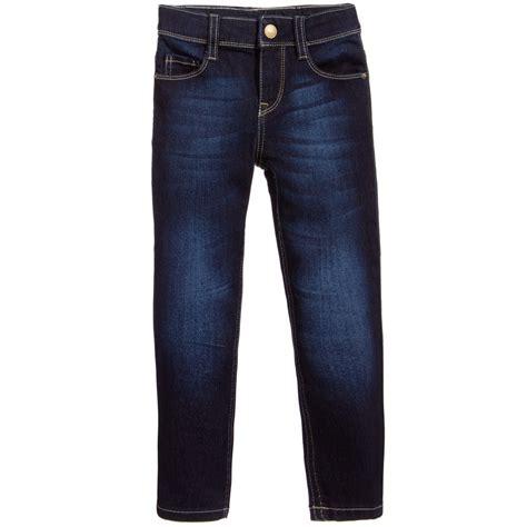 girls skinny jeans levi s girls dark blue lightweight denim skinny jeans