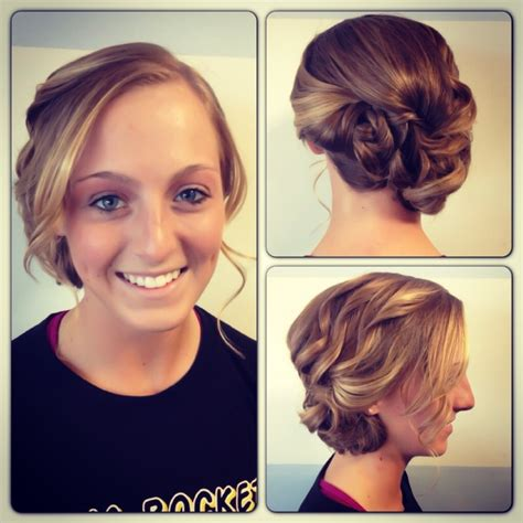 homecoming hairstyles off to the side cute off to the side updo for prom hair by emily becker