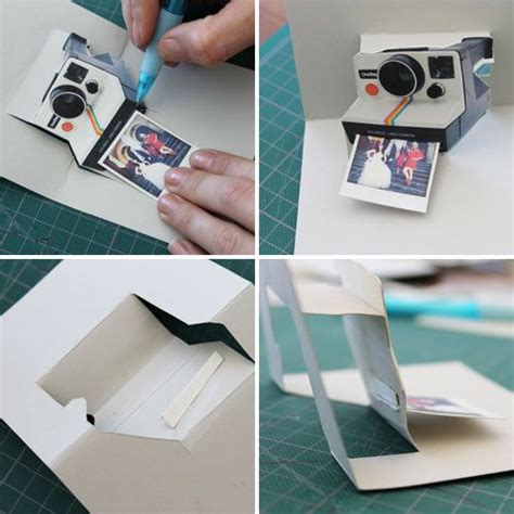 polaroid card template pop goes the diy pop up name card wedding anniversary