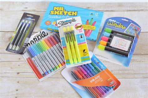 school supply gift the happy scraps