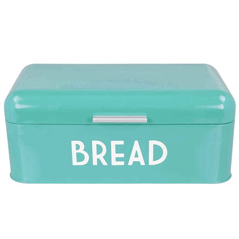 home basics 174 stainless steel retro style bread box ebay