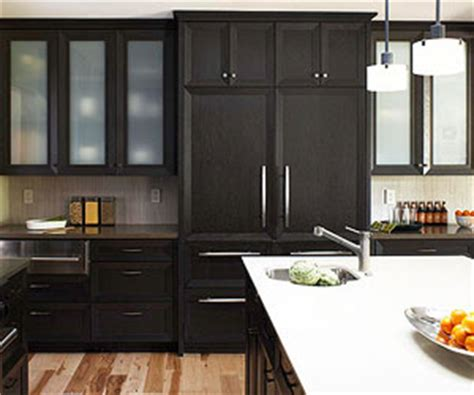 Kitchen Cabinet Stain black kitchen cabinets