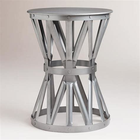Jardan Side Table Pottery Barn Metal Side Table Copy Cat Chic